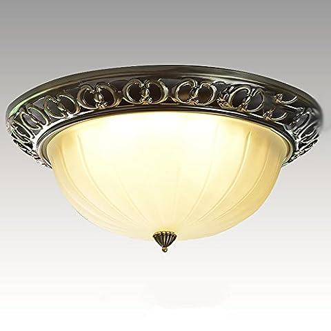 W de brillight LED plafonnier ampoules Design Moderne Métal et Glass Plafonnier éclairage style Direction Deco Lampe Spot de plafond pour salon Enfant Chambre Bureau 12W Ø 35cm dimmen