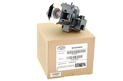 Alda PQ® Original, Beamerlampe / Ersatzlampe kompatibel mit EPSON EMP-TW1000, EMP-TW2000, EMP-TW700, EMP-TW980, HOME CINEMA 1080 Projektoren, Alda PQ® Lampe mit PRO-G6s Gehäuse / Halterung