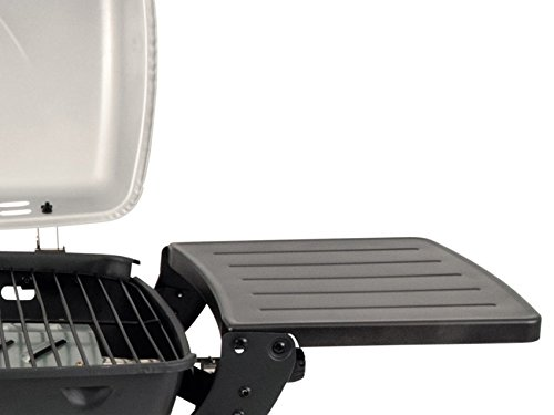 Outwell Roast Gas BBQ with Side table Stove + Grill - Black