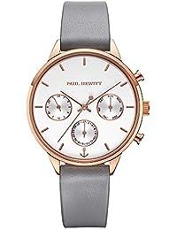 Paul Hewitt Everpulse Line - Reloj de Pulsera para Mujer (Correa de Piel),