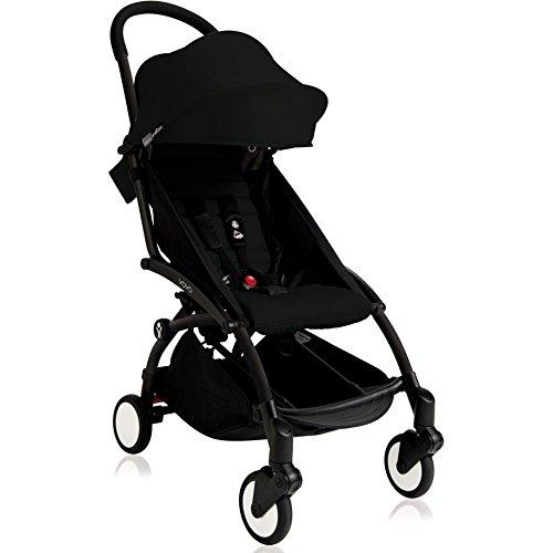 BabyZen 2016 Yoyo+ Stroller-Black Frame (Black) by Baby Zen
