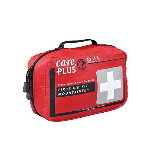 Care Plus First Aid Kit-Mountaineer Verbanskasten, Rot, One Size
