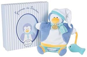 Doudou et Compagnie Coffret Graines de Doudou Pingouin Marionnette
