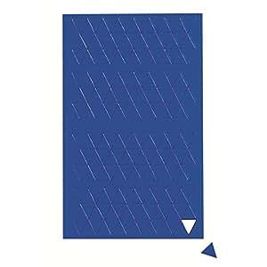 MAUL Planche Symboles magnétiques triangle 1 x 1cm 180 pcs Bleu