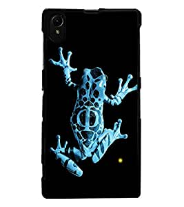 ColourCraft Rare Breed Frog Design Back Case Cover for SONY XPERIA Z1
