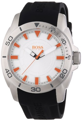 Boss Orange Men's Watch XL Analogue Quartz Silicone 1512949 Big Day