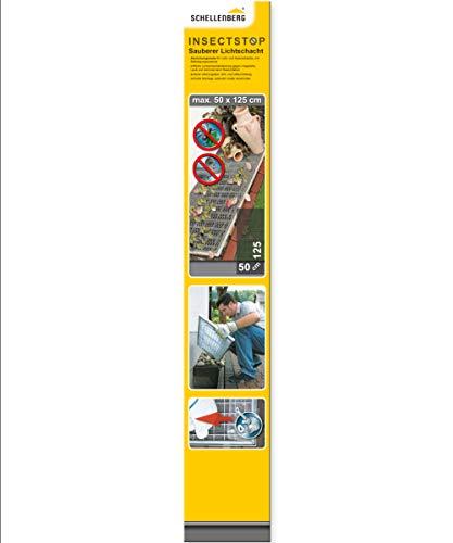 Schellenberg 50355 Sauberer Lichtschacht Schutz-Gewebe aus Aluminium