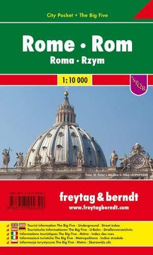 Rom, Stadtplan 1:10.000, City Pocket, Freytag Berndt Stadtpläne (Rom, Italien-map)