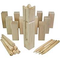 Moorland Holzwurfspiel Outdoor Spiel für bis zu 12 Personen