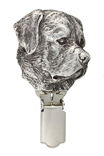 Rotweiler, Hund clipring, Hundeausstellung Ringclip/Rufnummerninhaber, limitierte Auflage, Artdog -