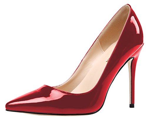Bild von AOOAR Damen High-Heel Glattleder Büro Pumps