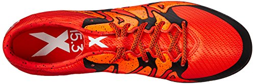 Adidas Performance X 15.3 Chaussures de football, Gras Orange / blanc / orange solaire, 6,5 M Us Bold Orange/White/Solar Orange