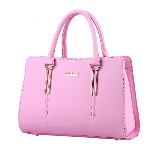 HQYSS Damen-handtaschen Süße Lady Fashion Schulter Messenger Tasche , pink (Tommy Hilfiger Tasche Pink)