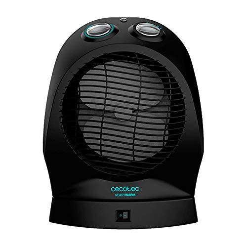 Cecotec Calefactor Ready warm 360º.  Distribución homogénea, Termostato Regulable, 3 Modos,  Protección...