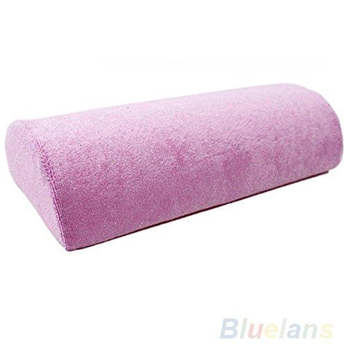 Half Hand Kissen Rest Kissen Nail Art Design Maniküre Pflege Soft Spalte, Pink (Halbe Spalte)