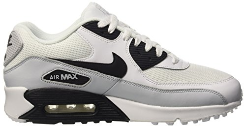 Nike Air Max 90 Essential, Chaussures de Running Entrainement Homme Multicolore (White/Black-Pure Platinum-White)