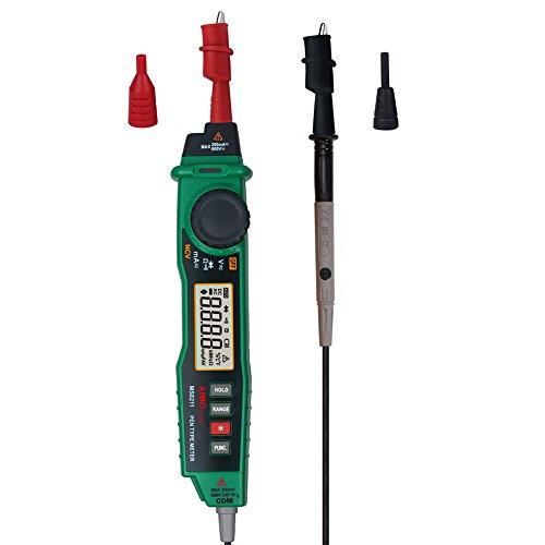 Lanlan, Stiftform zangenstrommeter Digital-Multimeter mit Hintergrundbeleuchtung und NCV Detektor ES KANN AC/DC Spannung, Widerstand, Diode und Kontinuität Test
