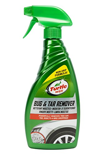 Turtle Wax 52856 Bug & Teerentferner Easy Auto Reiniger Baum Sap Tough Stains Spray 500ml