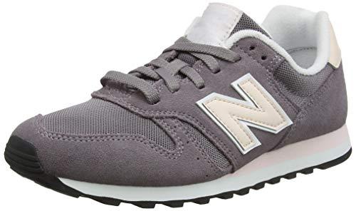 New Balance Damen 373 Sneaker, Dark Cashmere/Pink Mist Pwp, 40.5 EU