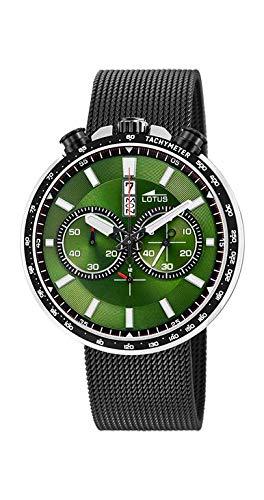 Orologio da uomo, cronografo, impermeabile, Lotus