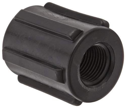 Banjo CPLG050 Polypropylene Pipe Fitting, Coupling, Schedule 80, 1/2 NPT Female by Banjo Corp -