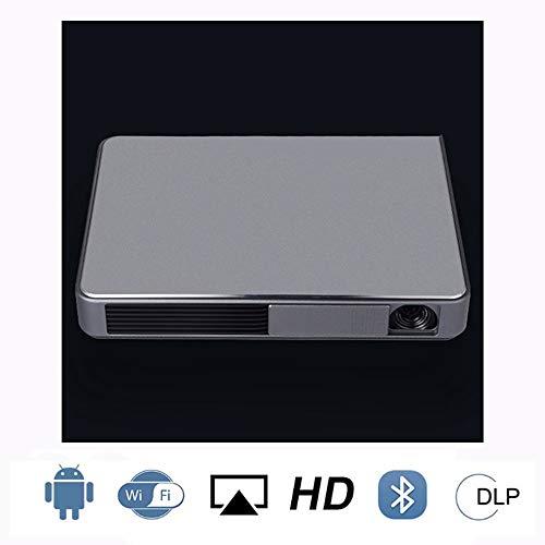 4k pico projecteur HD 1080p maison mini Projection intelligente Bluetooth 4.0 Portable sans fil même écran Divertissement à domicile, Fête, Jeux