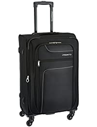 Pronto New Yorker Polyester 78 cms Black Softsided Suitcase (6500 - BK)