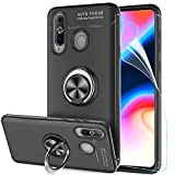 LeYi Galaxy A8S Case with Ring Holder, Rotating Kickstand