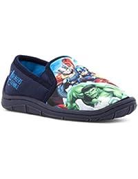 The Avengers - Zapatillas de estar por casa de Material Sintético para niño