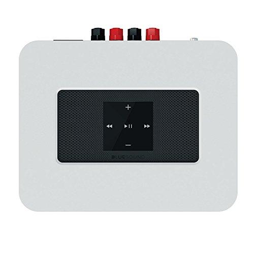 Bluesound POWERNODE 2  White  Amplified Hi-Res Wireless Music Streamer