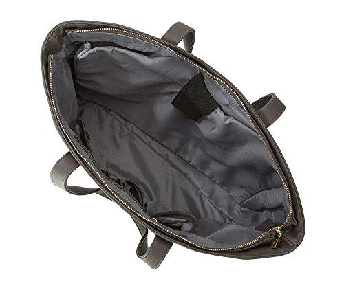Wittchen Tasche | Farbe: Grau | Material: Kunstleder | Höhe (cm): 30 - Breite (cm): 49 | Sammlung: Young | 83-4Y-E03-88 Grau