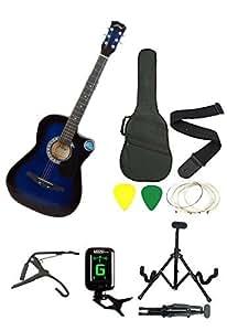 Jixing JXNG 6 Strings Acoustic Guitars( Blue )