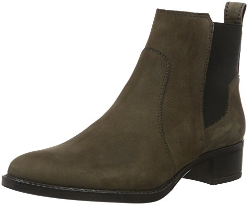 Marc O\'Polo Damen 61012785102203 Mid Heel Chelsea Boots, Grau (dark grey 930), 39 EU