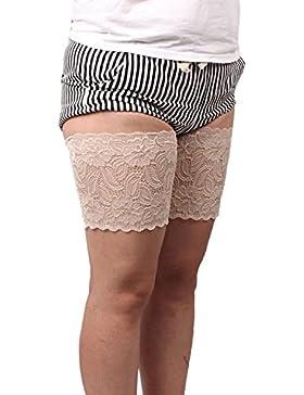 xhorizon TM FM8 Frauen Elastisch Anti-Scheuern Schenkelbänder Verhindern Oberschenkel Chafing mit Silikon