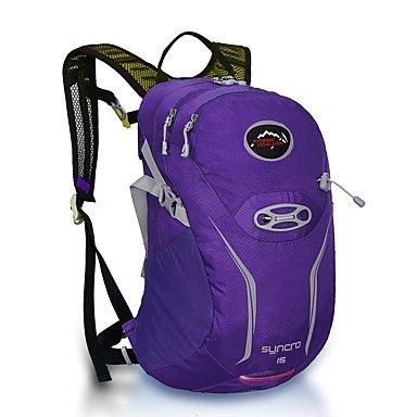 15 L Radfahren Rucksack Rucksack Multifunktions Purple