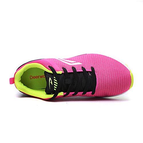 Chaussures femme/sport chaussures de course d'automne/Mesdames respirantes mesh chaussures/chaussures de course confortables et décontractés C
