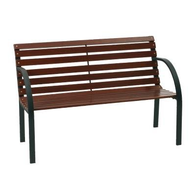 Panca Panchina da giardino in acciaio e