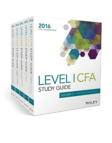 Wiley Study Guide for 2016 Level I CFA Exam: Complete Set