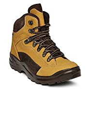 Franco Leone Mens Beige Boots - 9 UK/India (43 EU)(9916-N)