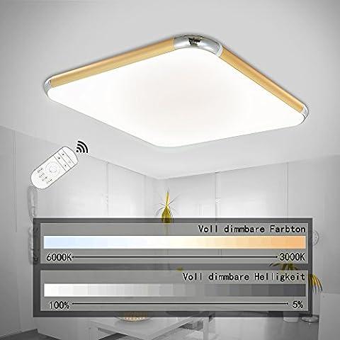 SPARKSOR 30W LED Deckenleuchte Deckenlampe Wohnzimmer bad Küche Panel Leuchte