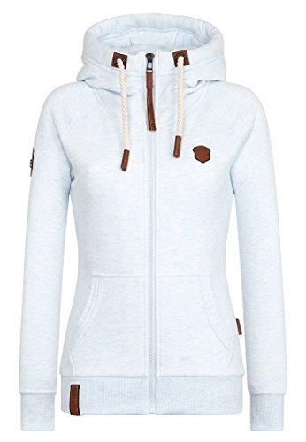 Naketano Female Zipped Jacket Brazzo Himmelblau Melange, M
