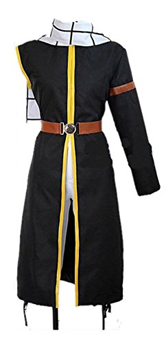 Sunkee Fairy Anime Tail Natsu Outfit with Scarf -