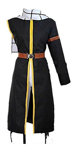 Sunkee Fairy Anime Tail Natsu Outfit with Scarf Cosplay Costume,Maßgeschneiderte,Größe XL: Höhe ()