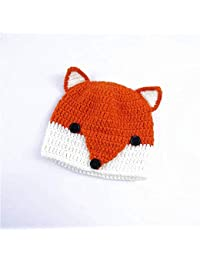 08d94d41e68ba JBLDY Sombrero de Los Niños de Otoño E Invierno Cálido Gorro de Punto  Suéter Lindo Pequeño