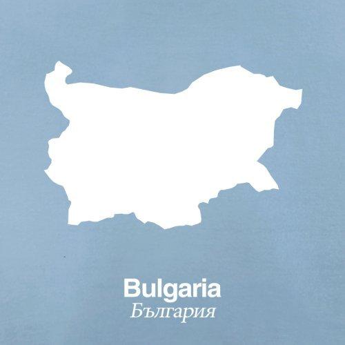 Bulgaria / Bulgarien Silhouette - Herren T-Shirt - 13 Farben Himmelblau