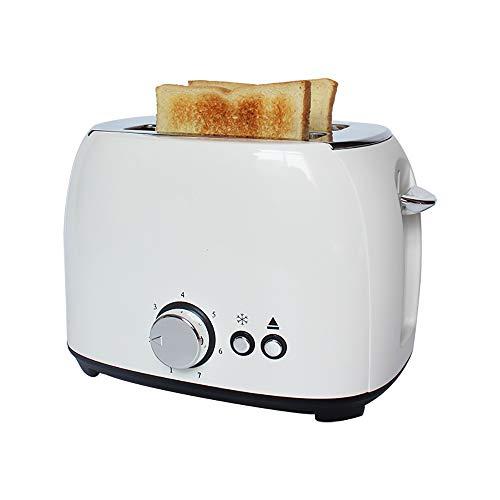Automatik-Toaster, 2 Langschlitzkammern, Für bis zu 2 Brotscheiben,800 W, edelstahl