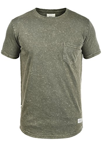 Redefined Rebel Myles Herren T-Shirt Kurzarm Shirt mit Rundhalsausschnitt  Aus 100% Baumwolle, 44eb368216