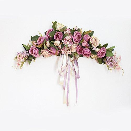 Guirnalda de flores artificiales de Li Hua Cat