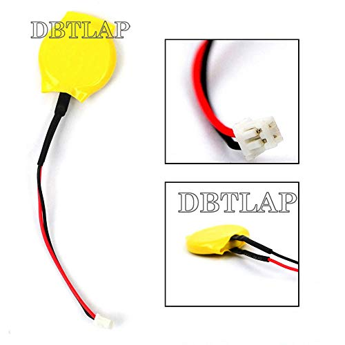 DBTLAP CMOS Batería Compatible para DELL Latitude D510 D610 D620 D630 D631  D810 D830 CMOS Bios Batería