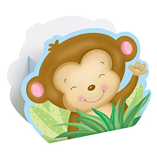 Party-Boxen, 8 Stück (Monkey-boy Baby-dusche Dekorationen)